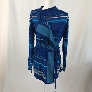 Blue knitted cardigan by Tommy Hilfiger (#242)